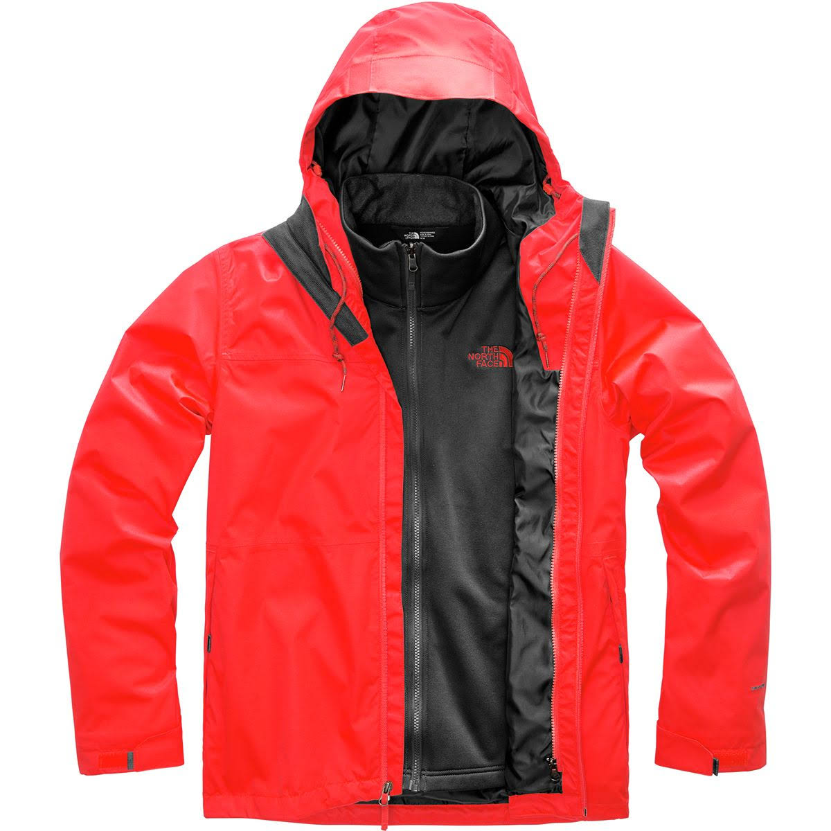 North Para Arrowood Red Face Large De The Hombre Chaqueta Fiery Triclimate xqEwCHHY