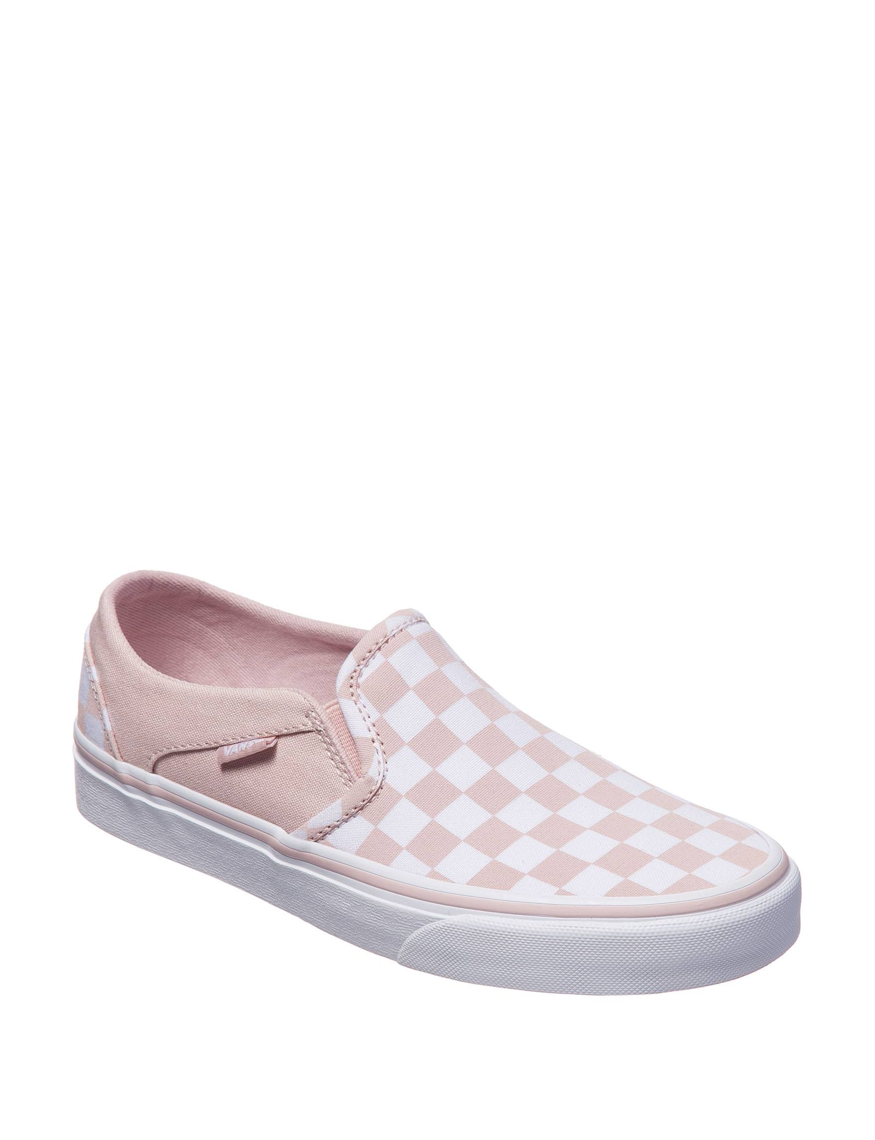 Pink Checkerboard Rose Stores Sepia At Check Shoes 6 on Vans Stage Size Slip Asher ZnqWO1