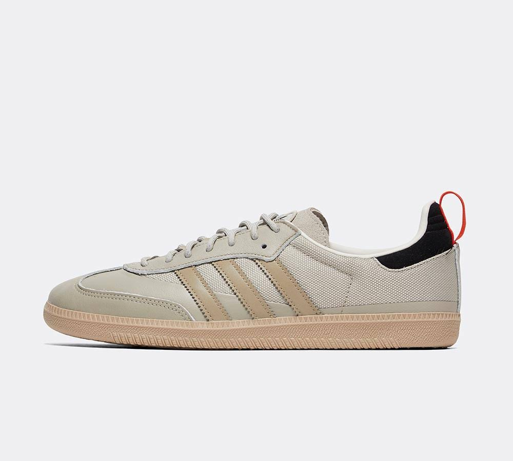 adidas Originals Samba OG Shield Trainer - Beige/Cream - Size 11.5