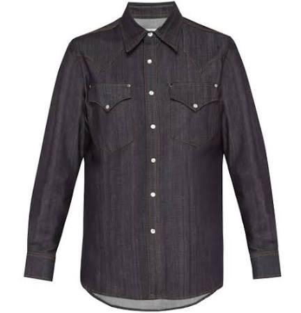 Denim Hombre Indigo Sierra Shirt Slim Fitting Eytys Raw nY6wSOx60