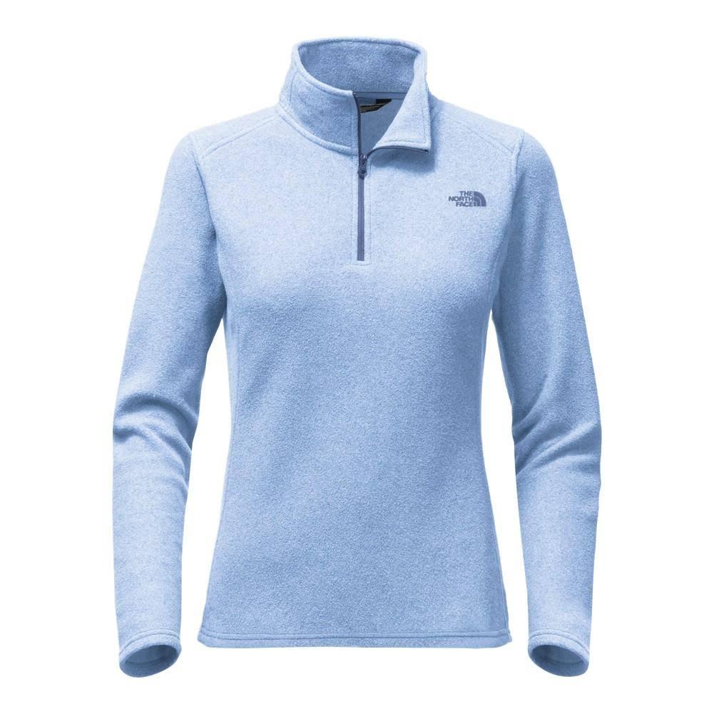 The Blue Zip Fleece 14 North Face Womens Glacier 06wqrH0