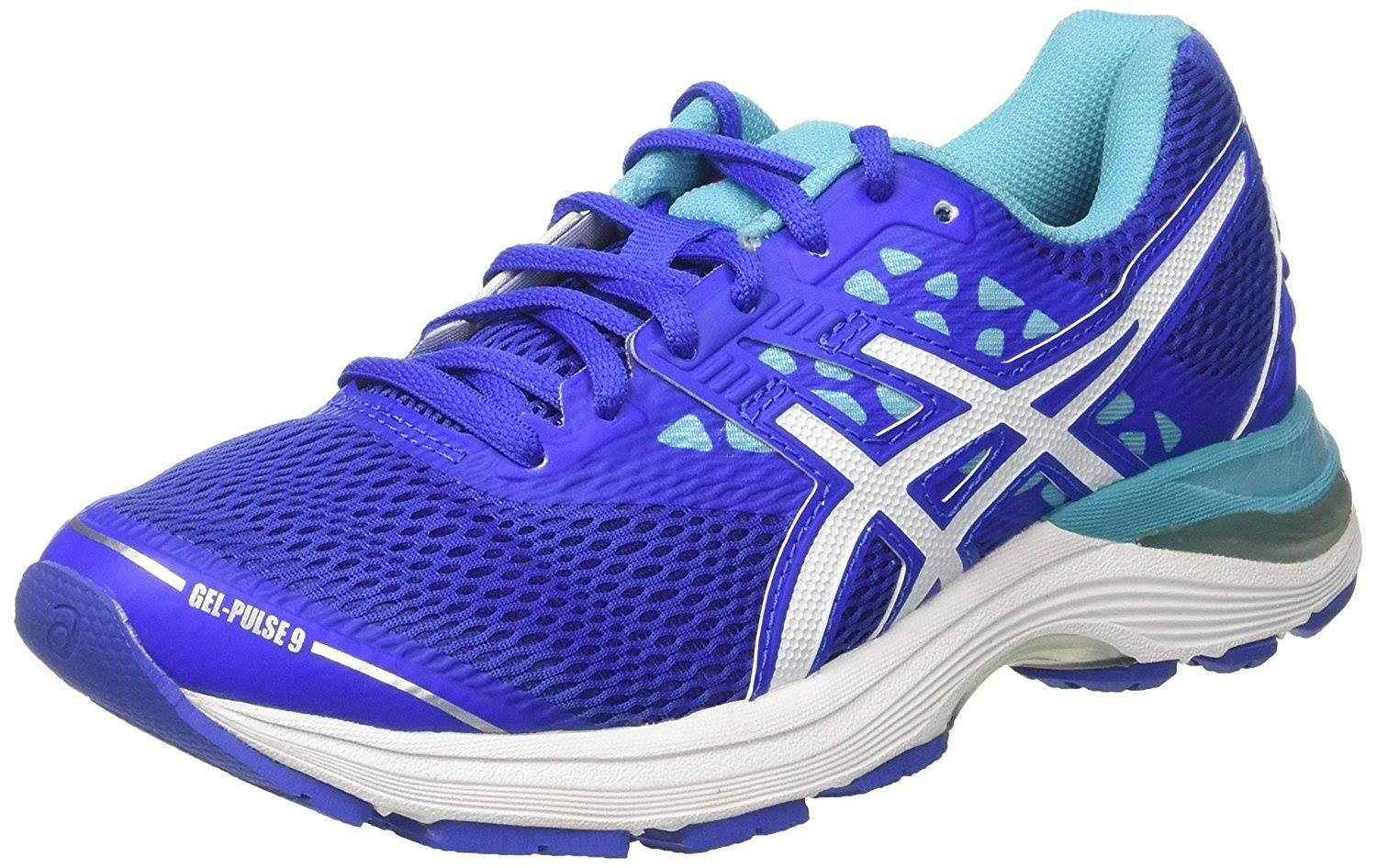 Blue Asics Gel Pulse 9 Running Shoes Womens rWYpwY0q6