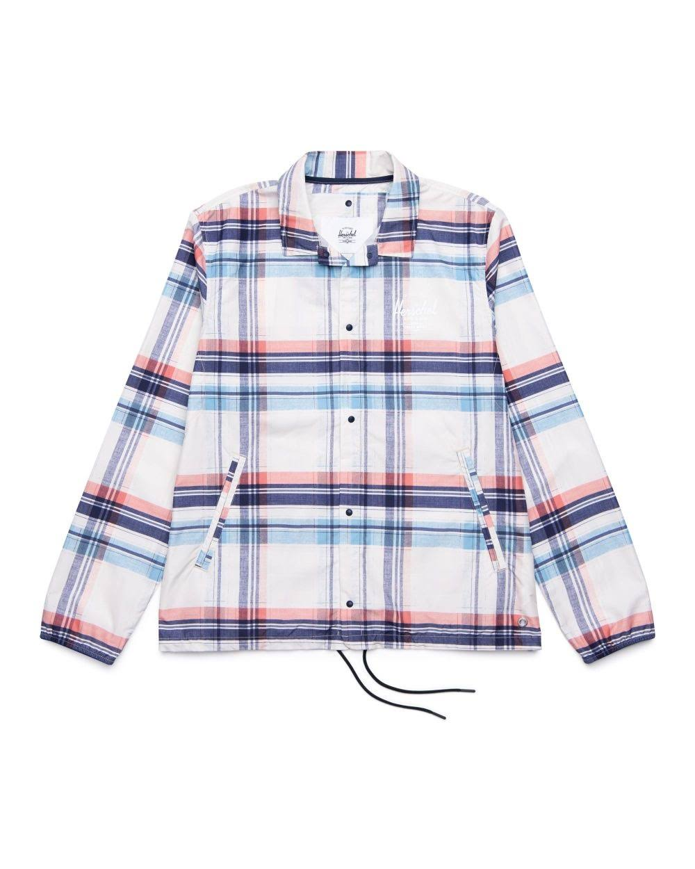 Peacoat Voyage Plaid Supply S Co Coach Herschel Jacket q8wPHYxXA