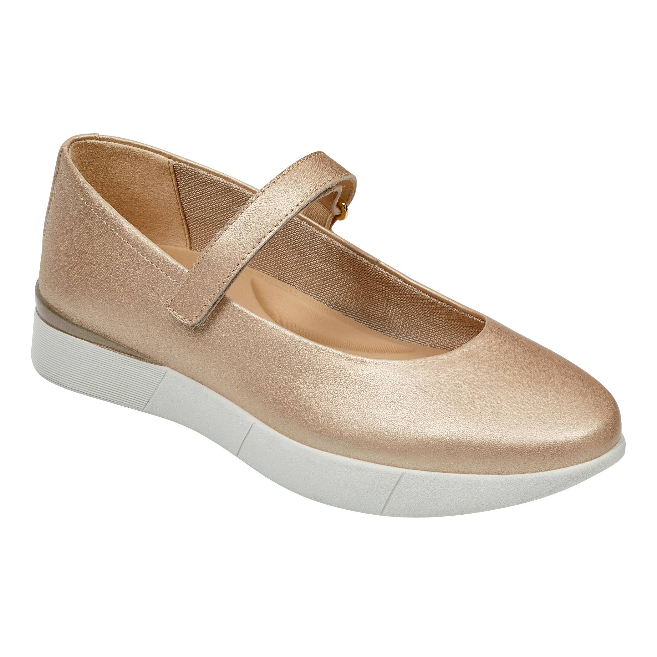 Larga Easy 9Larghezza Scarpe Casual Cacia Mary JaneNaturalitaglia Spirit D2WHEY9I