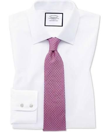 Puño Blanca Slim Corte De Vestir Camisa Popelina Francés Egipcio Algodón x8qwx0PR