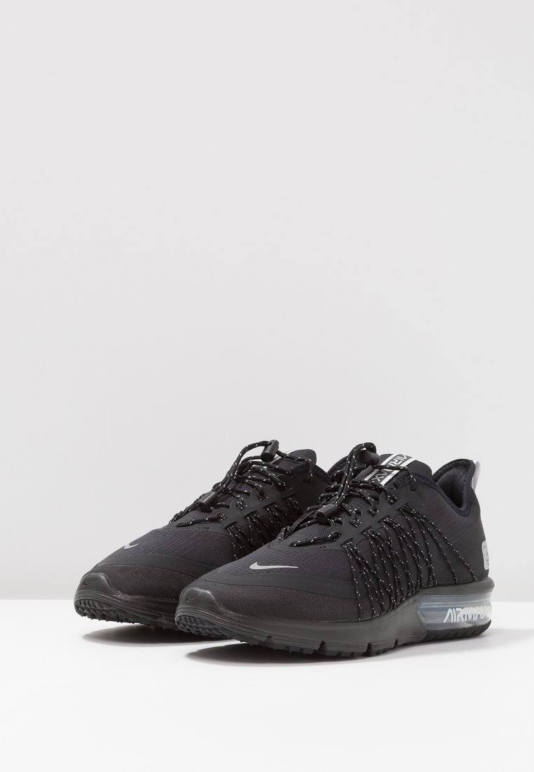 Black 4 Air Maat Zwart Textiel Utility Max Dames reflect Kunststof Neutraal Hardloopschoenen 37 Performance Sequent Silver 5 Nike 5Cp8q5
