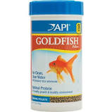 API Sinking Pellets Goldfish Food, 7-oz bottle