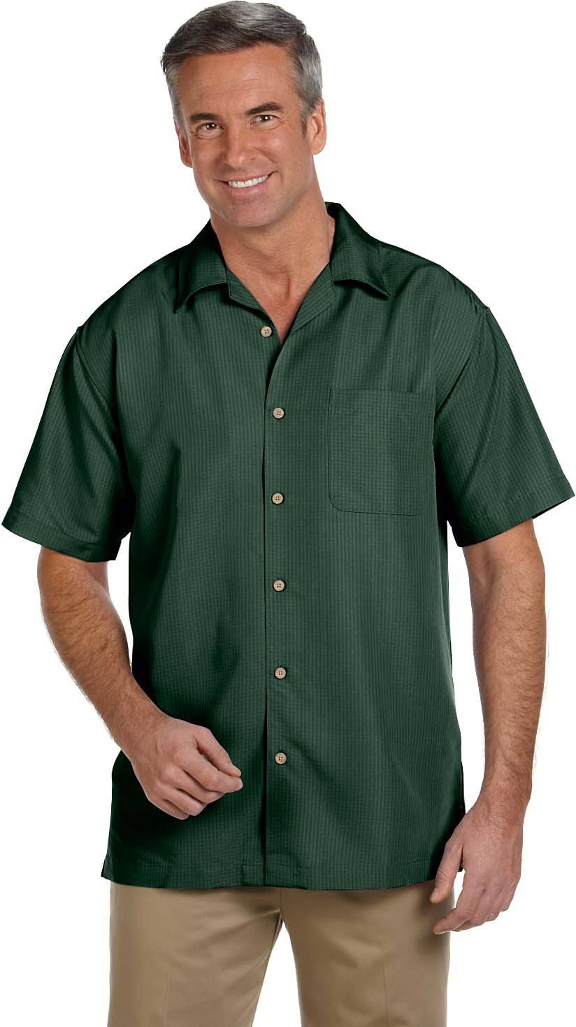 Camp Barbados Herren Harriton Shirt Textured XHOOtq
