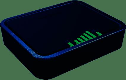 NETGEAR 4G LTE modem with two Gigabit Ethernet Ports (LB2120-100AUS)