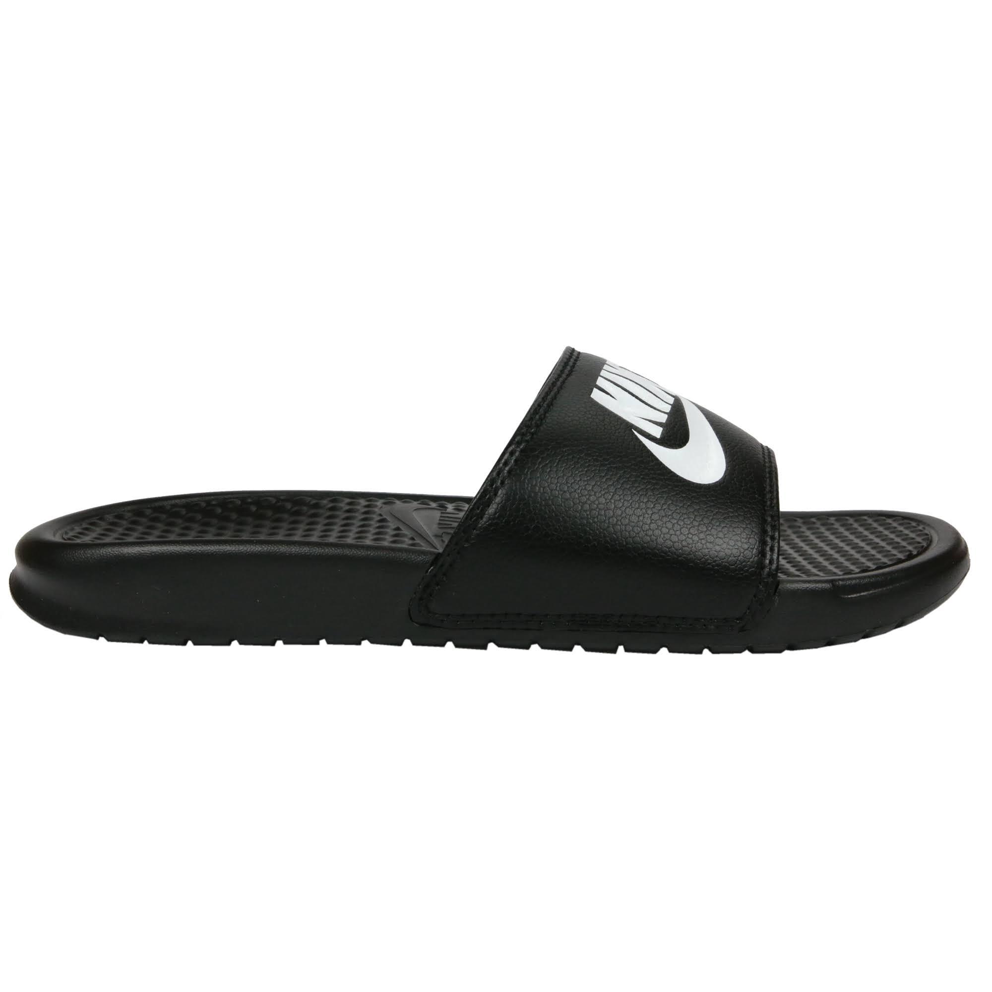 090 Homme Nike 343880 Blanc Jdi Benassi Sandales Noir hommes pSSTUYq