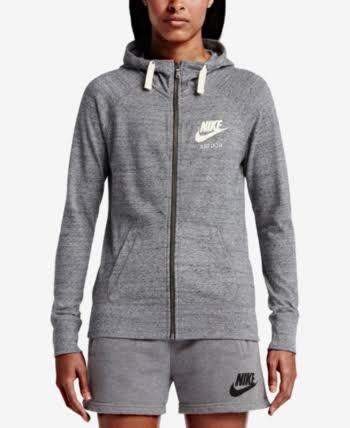 Gris Zippé Carb À Hsail Grey Vintage Nike Gym Capuche Sweat Xs ZY1WqzqE