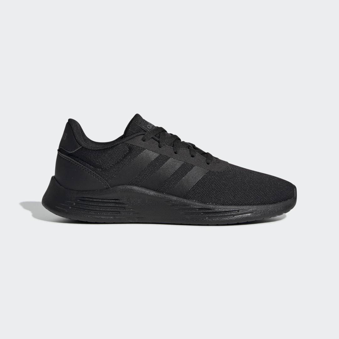 Adidas Lite Racer 2.0 Shoes - Kids - Black