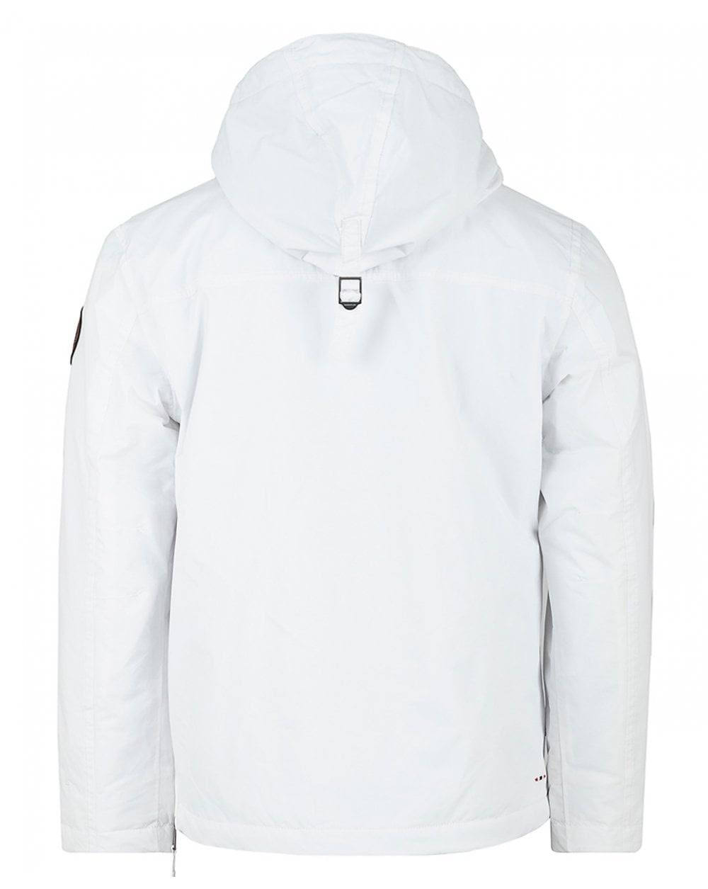 Farbe Pullover Größe Jacket White Rainforest Bright Napapijri Winter xEPIfaq