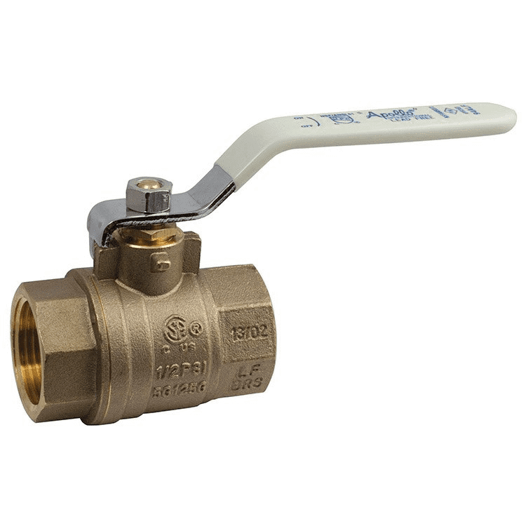 "Conbraco, 1 1/4"" Full Port Threaded Ball Valve, (Lead Free), 94ALF-106-01A"