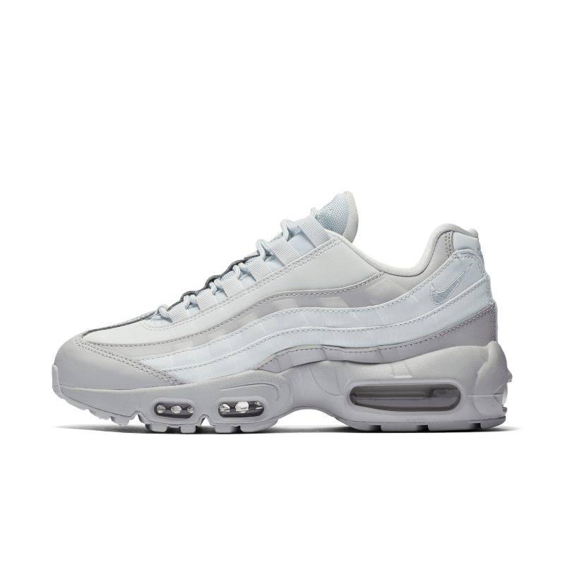 Lx Sportswear 35 Sneakers Wit Air Maat Lichtgrijs 95 Platinum Textiel Nike Laag 5 Imitatieleer Pure Max Dames nqpIaCwxW