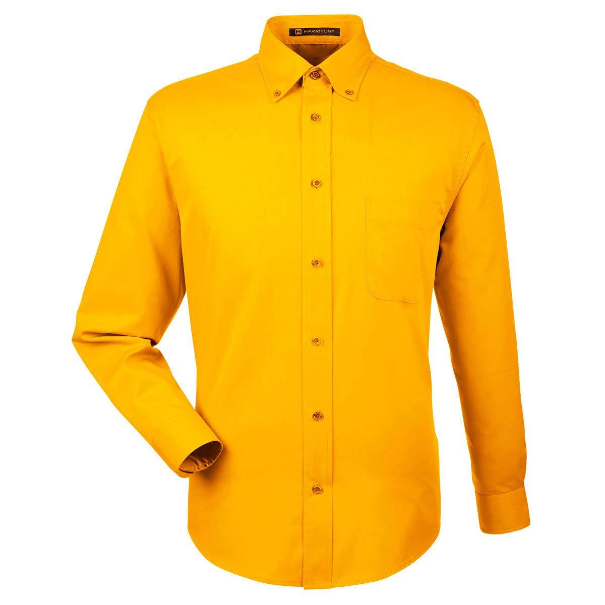 Klein Twill M500 Harriton Release Fleck Herren Shirt pwYPnOqS1