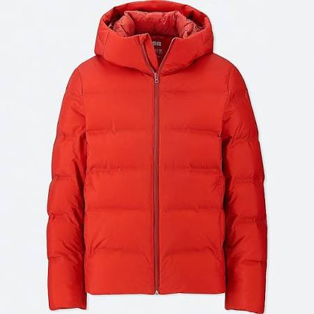 Seamless Uniqlo Xs Herren Orange Daunenparka aSS1qA