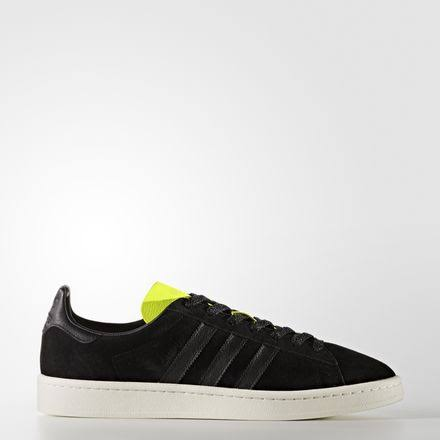 adidas-Campus Shoes-Men-Core Black/Solar Yellow-11