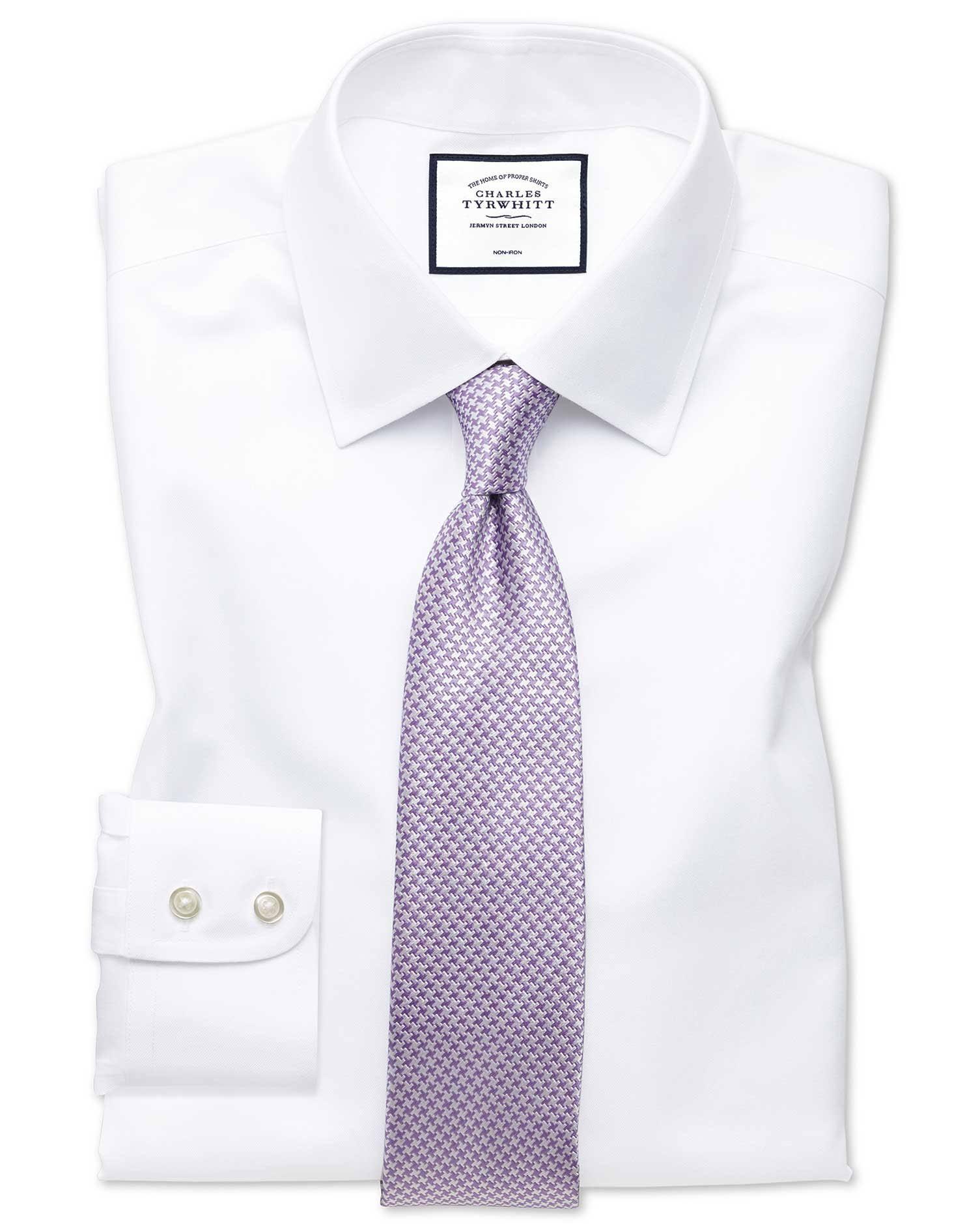 Puño De Fit Para Camisa Sin Sarga Algodón Sencillo Formal Slim Hombre TqxZ5zwpxn
