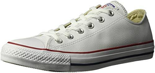 Pelle India Star In Converse Con Scarpe Low All Ubuy 9 Bianco Ottico Mens 5 76gbfy