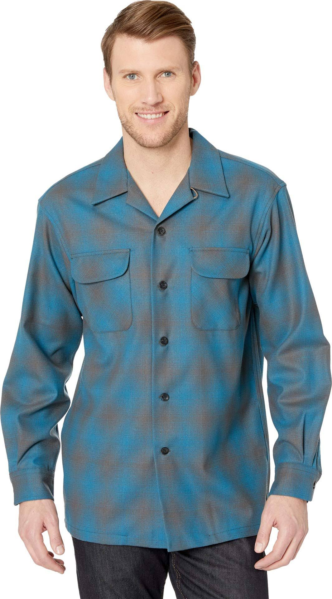 Manga Larga De Corte Pendleton Camisa Hombre Para Clásico PgpTxwn