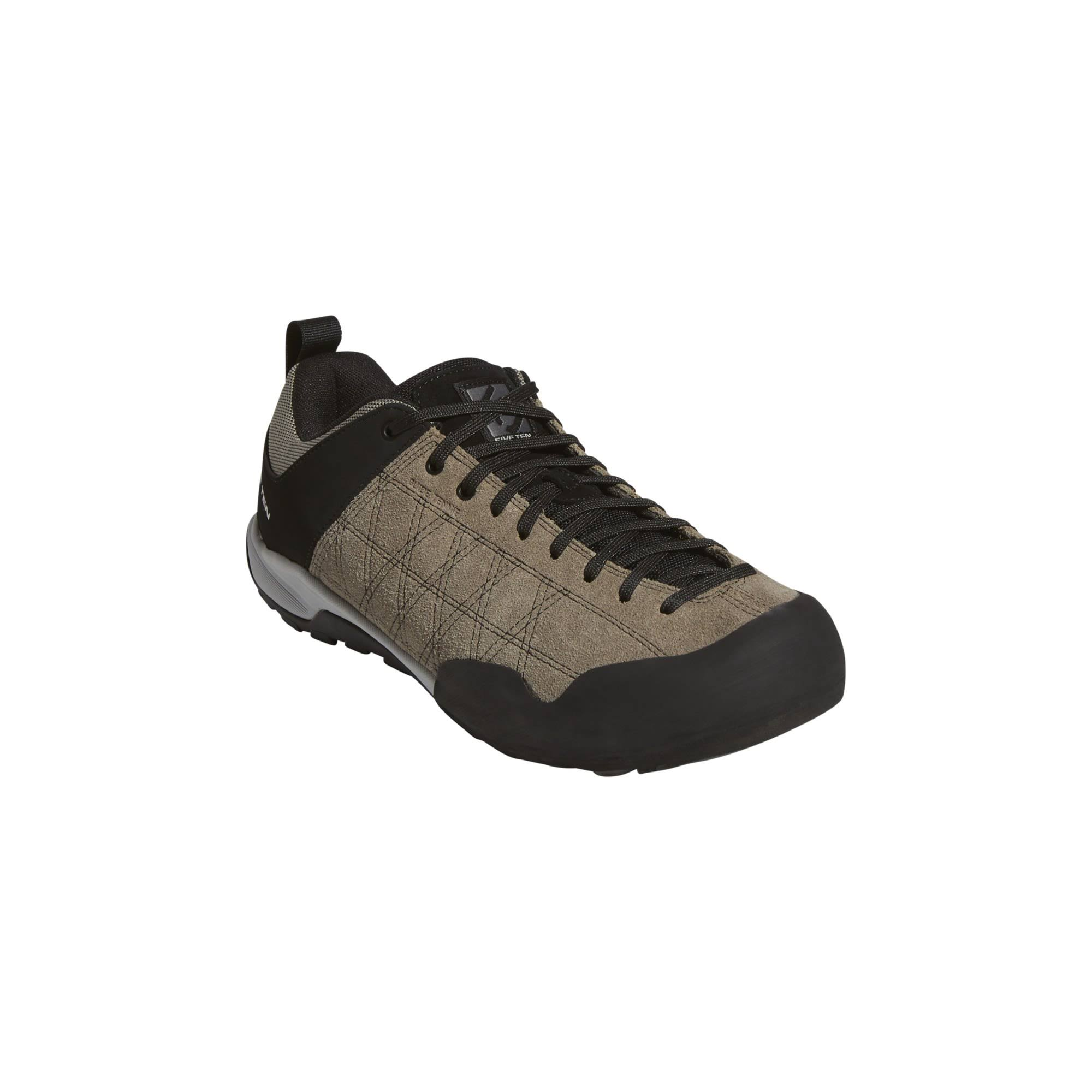 Five Ten Guide Tennie Hiking and Approach Shoes for Men, UK 10.5, Simple Brown -Core Black -Grey Four
