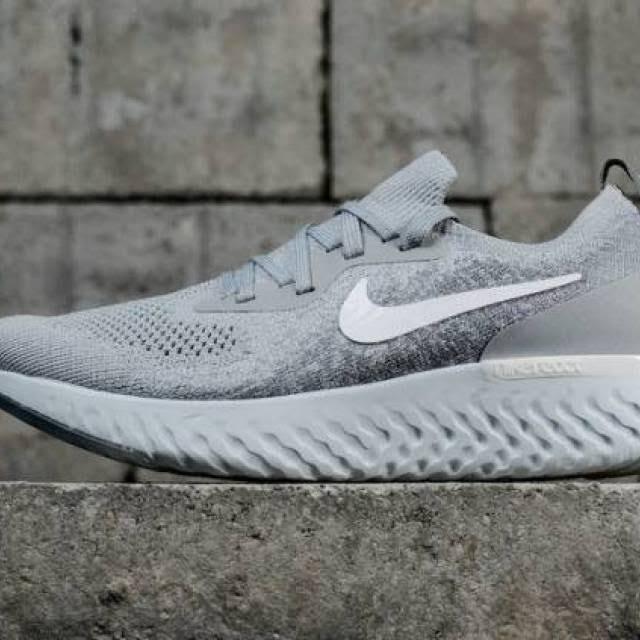 0 Coolgrey 8 Größe React Pureplatinum Weiß Epic Flyknit Nike Sneakers Herren Wolfgrey vY0RSWxHg