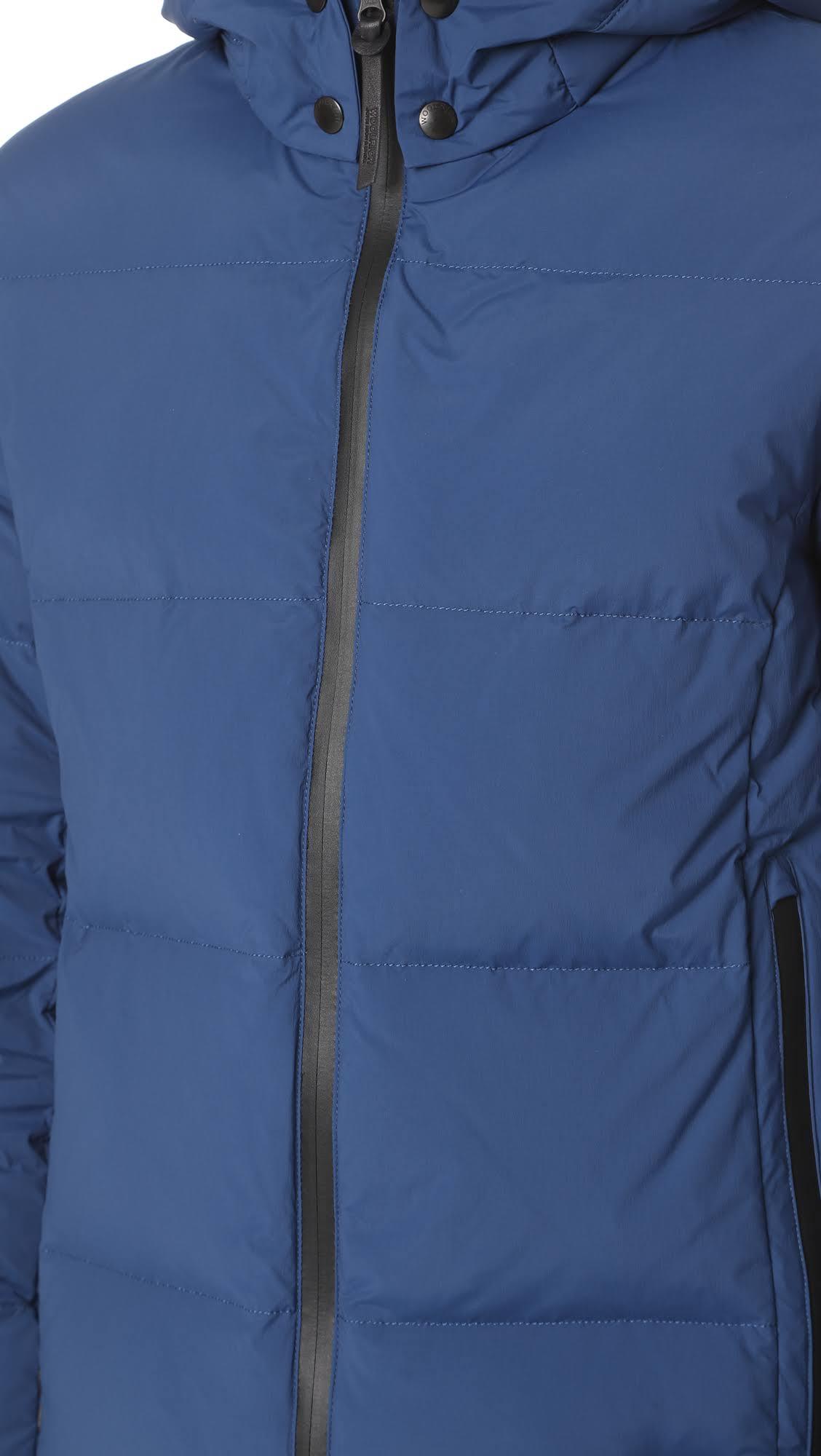 amp; Woolrich Bros Chaqueta Rich John Confort Royal L De Blue UWRZ7T