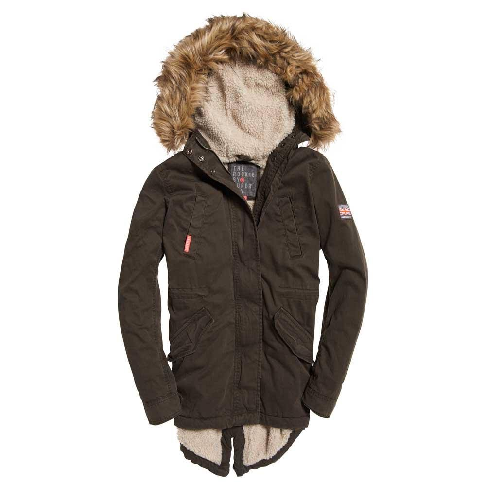 Superdry Classic Fishtail Parka Classic S Superdry YqTYwZ8x