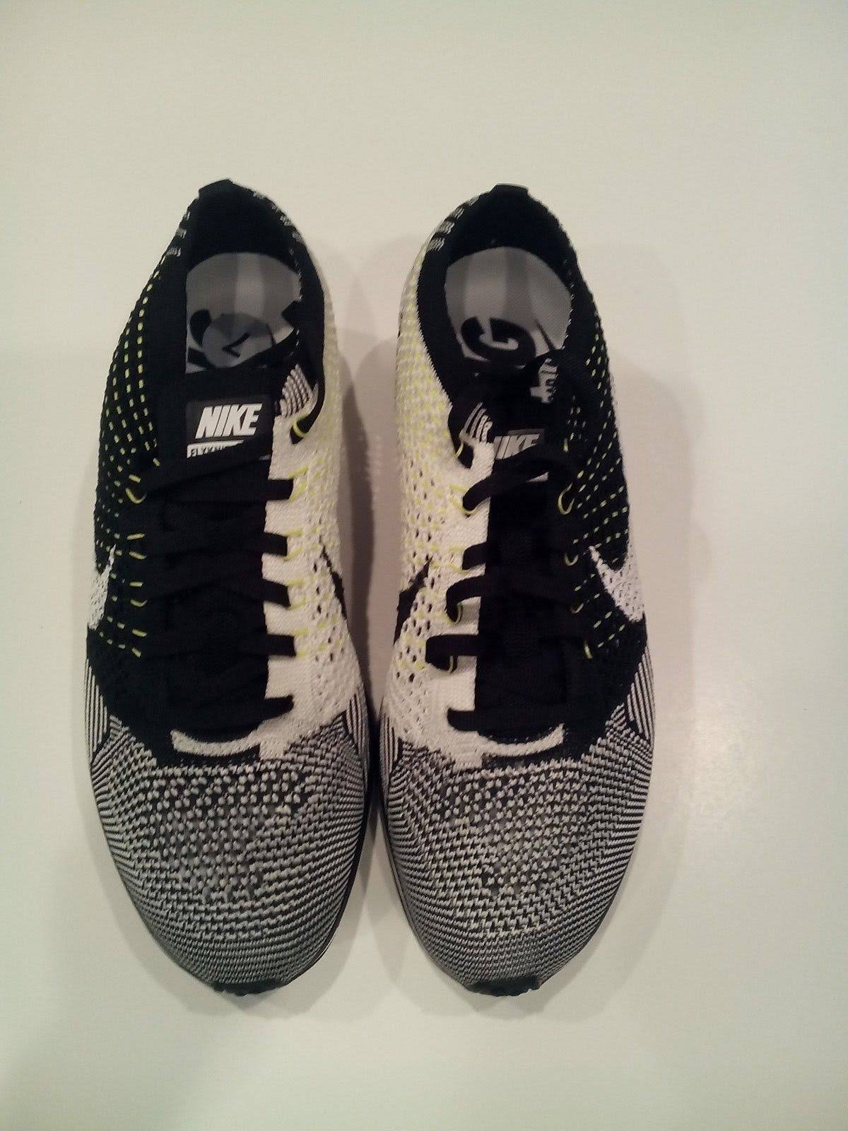 Nike Para Racer Running Flyknit Zapatillas 526628011 Tamaño De 7 Hombre rUCnrwFfxq