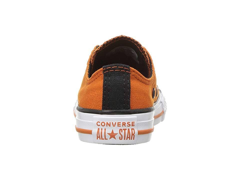 Calzado naranja Chuck 4 Taylor Campfire Star Naranja Años Niños Tamaño Converse Negro Para Blanco All Low Temporada Big Color De Top vaCxq6wd