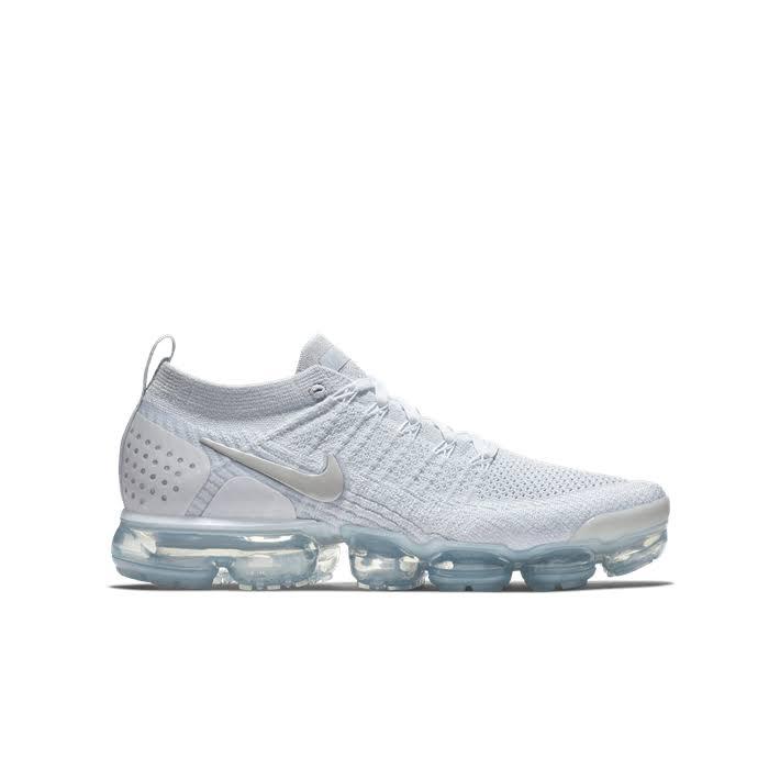 44½ Flyknit 2 Nike Vapormax Koşu Air Ayakkabısı Erkek Beyaz zH7wwg8q
