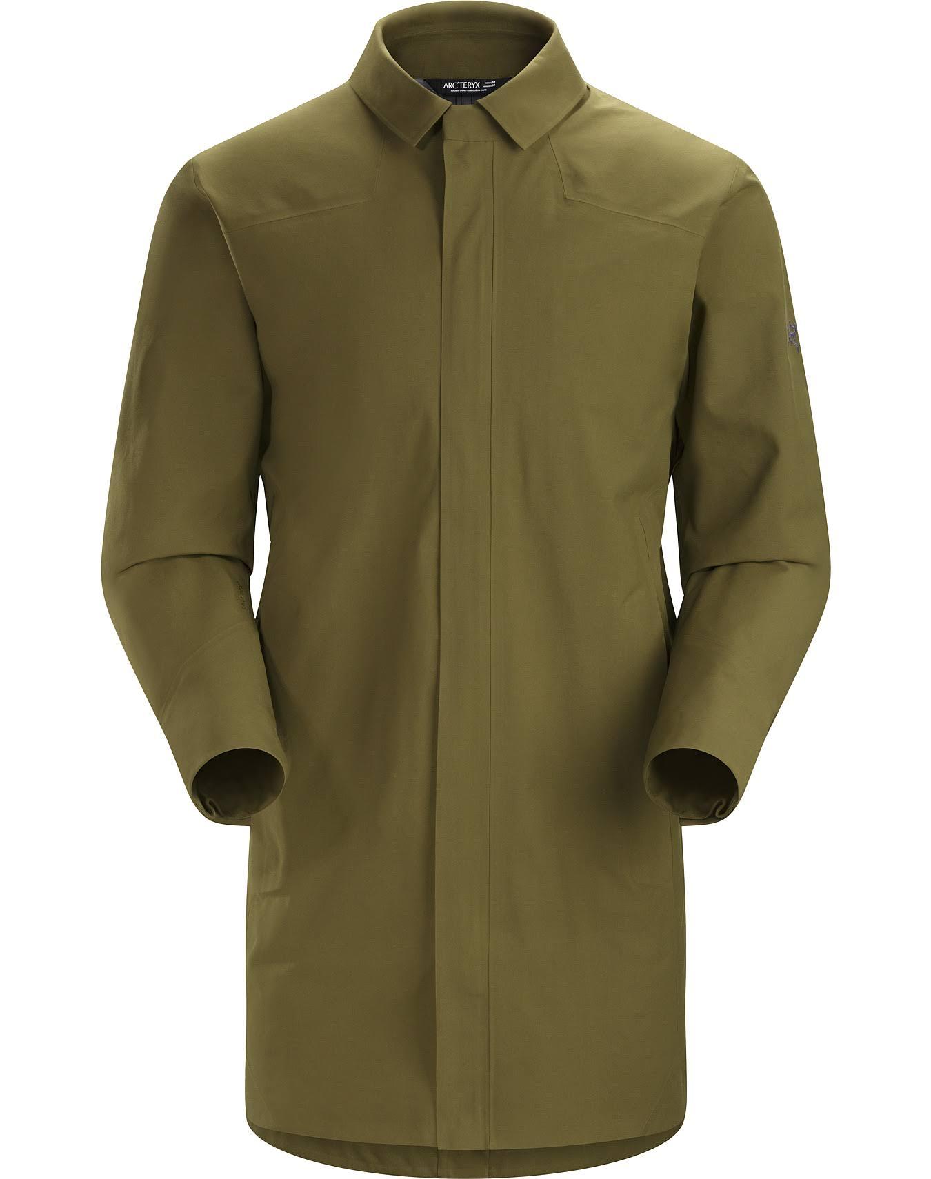 Hombre De Moss Para Trench Otoño Small Discontinuos 2017 Moss Colores Keppel Coat Dark Arc'teryx 0fHIxt