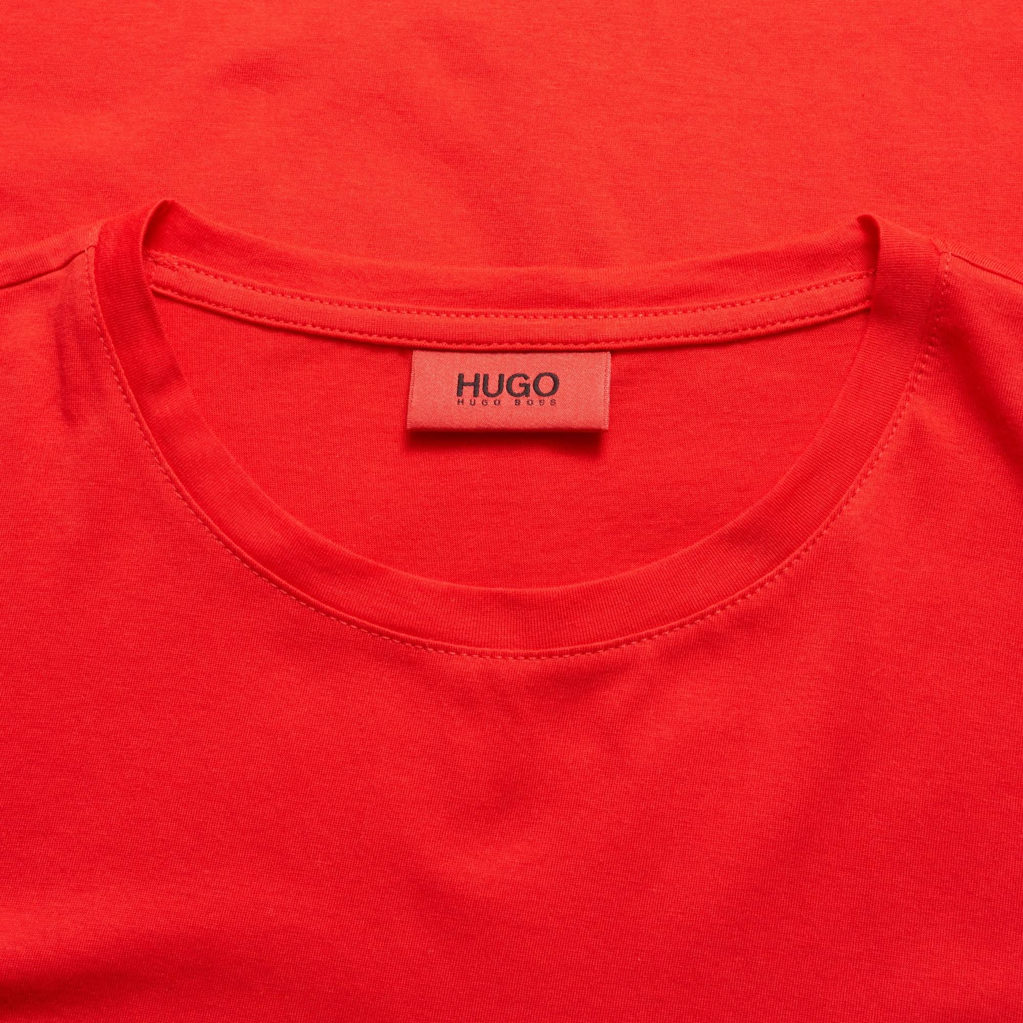 Brillante 50396249 Tamaño Rojo Color u1 Hugo Rojo Dolive Camiseta 4gfqBPf