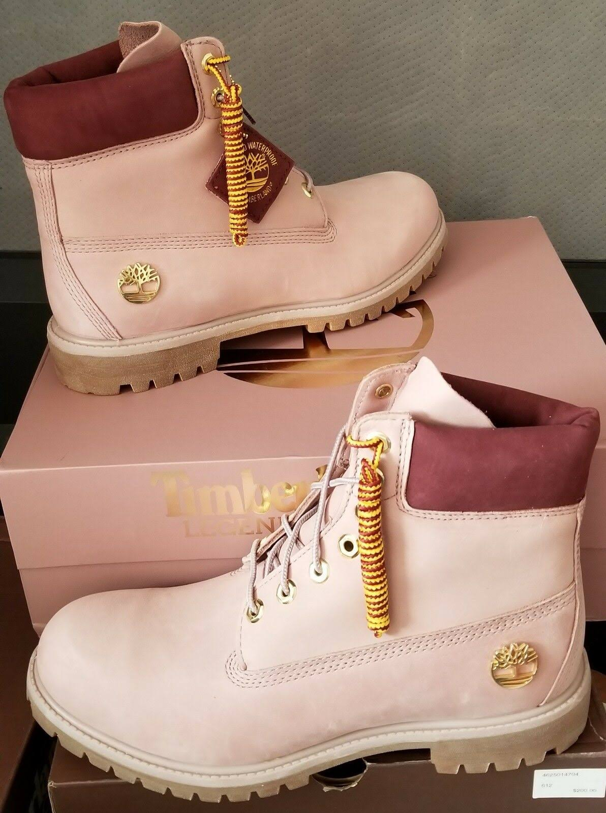 Mauve 6 Vol Waterproof Boot inch Club Premium Heren Timberland X Shadow Us 11 Legends sQrtCohxBd