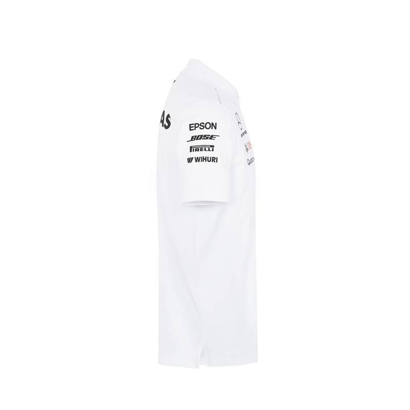Amg Polo Mercedes Xl Größe Weißes Motorsport Team q8aaFwx0P