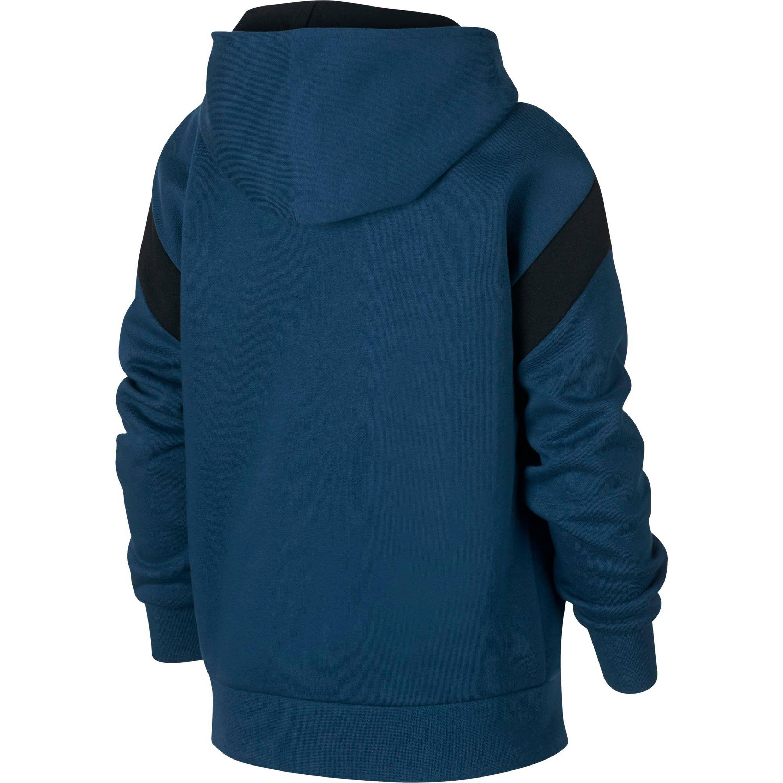 Baumwolle 10 Sweatshirt 20 Petroleum 80 Jungen Polyester Größe Nike Himmelblau x6qaIOYCw