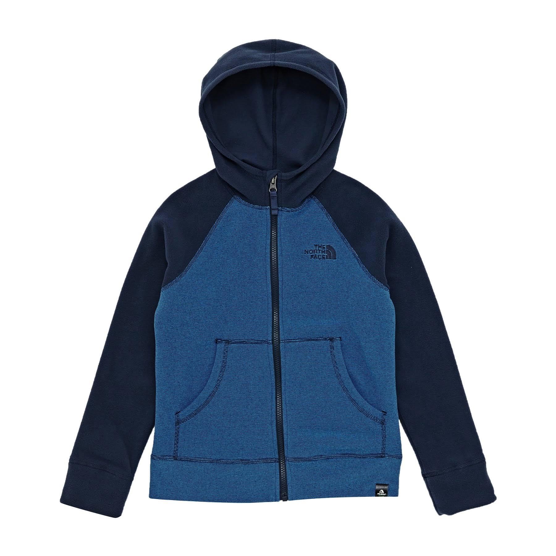 North Micro Fleece Hoodie Der Navy Glacier Blue Face Und fYwYSd0