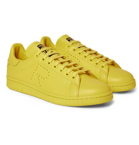 De Originals Cuero Adidas Simons Raf Sneakers Smith Amarillo Hombre Stan EYTFFnq