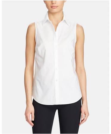 Bluse 44 Ralph Lauren 46 Damen Buttondown Größe Weiß XA6nwqEBnv