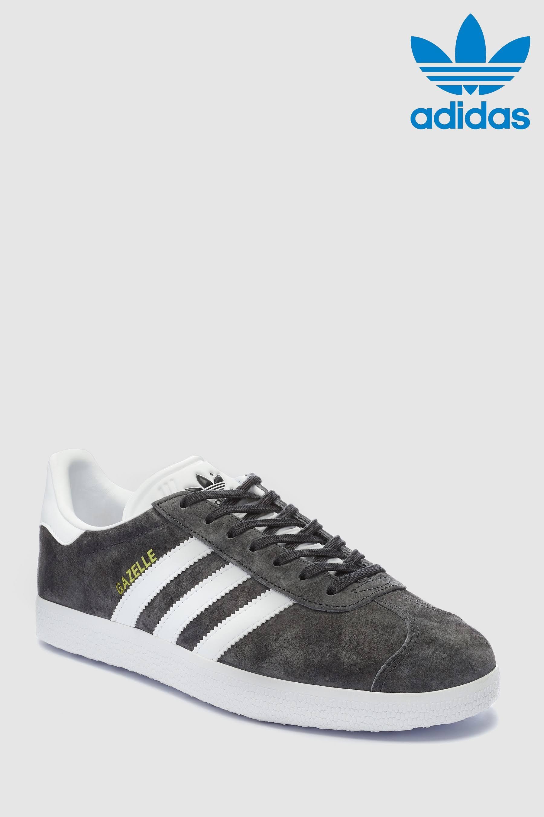 white Gazelle Dghsolidgrey Adidas Bb5480 10 Shoes 0 goldmet Y54qfaw