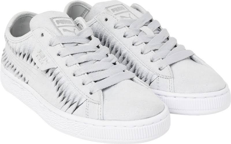 Puma Gris Metallic Sneakers S Suede Wn Mujeres Entwine Para wZqfSwPT