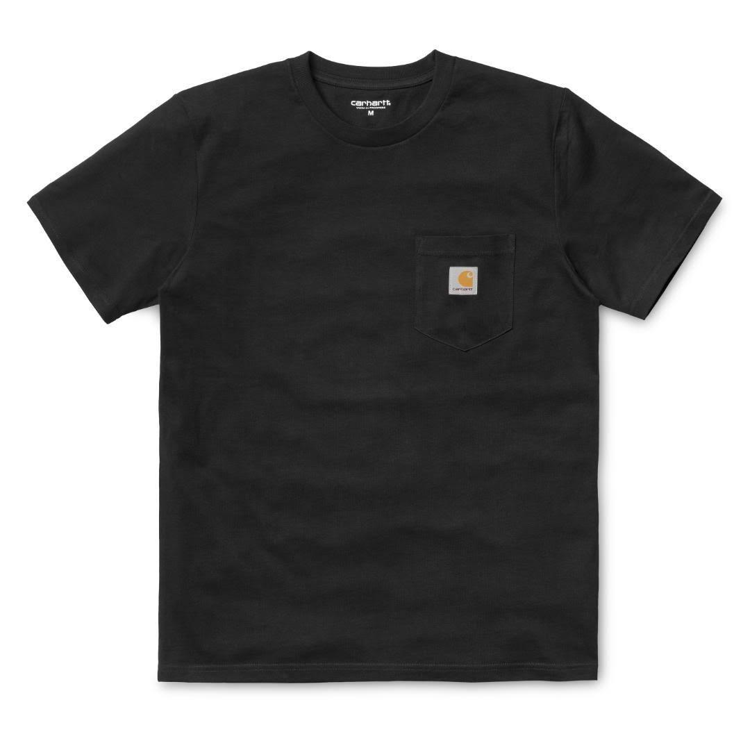 Carhartt M Bolsillo S Camiseta De Noir Negro Wip ZAH7frwxqZ