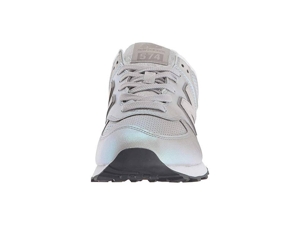 Athletic Sheen New 5 Für Sneaker Dark Damen Balance Silber 574 Größe tqtwFIg