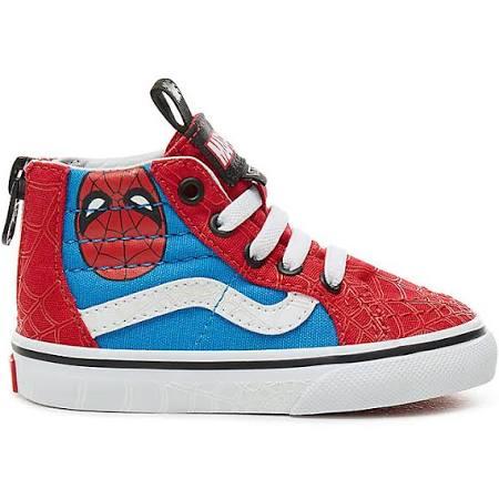 5 Multicolour man White Size hi Marvel X Toddler true Kids 2 Zip Vans marvel Spider Sk8 Shoes 4xOawwPz