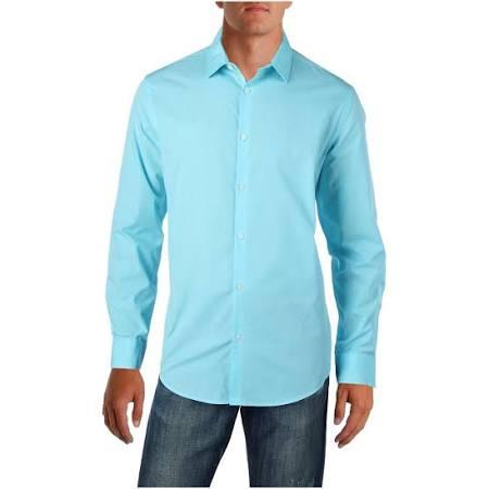 Cotton Mens Camisa Colorblock Botones Con 18186sa436 Alfani xSUwBqcOWq
