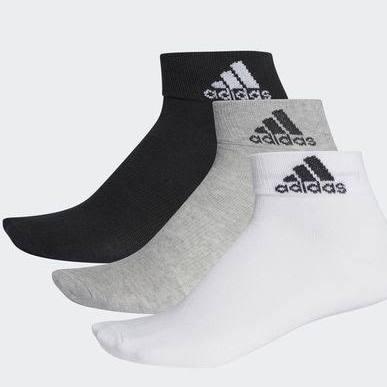 Skarpetki Thin 3 Black white Ankle – Performance mediumgreyheather Adidas Pary RdPCBwqRx