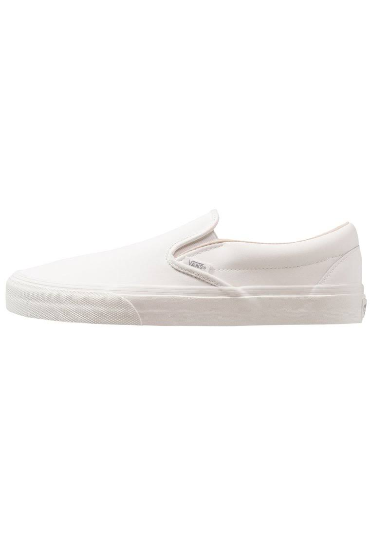 Blanc Slip on vansbuck Classic Vans White De xq7Cfw