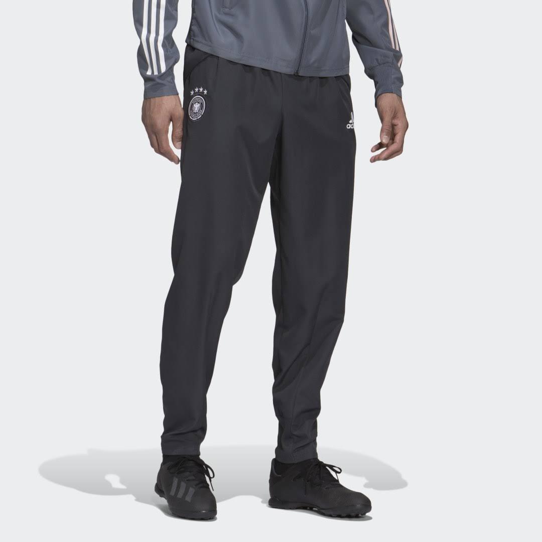 2020-2021 Germany Adidas Presentation Pants (Carbon)