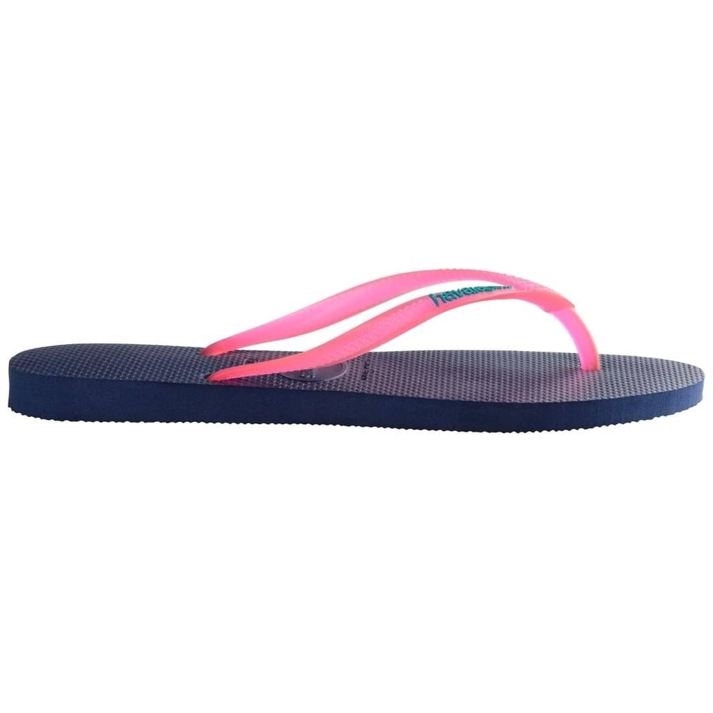 5557 Slim Havaianas Blue Rosa Größe navy 34 Badezehentrenner Damen 33 Schuhe Blau PwdCqawn